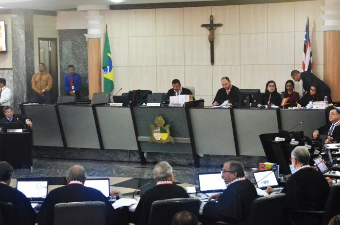 A premiação foi anunciada pelo presidente do TJMA durante sessão plenária administrativa