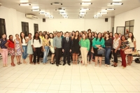 Juízes ministraram palestra para estudantes universitários em Bacabal.