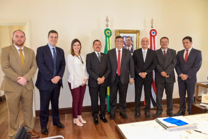 A reuniçao ocorreu no Palácio dos Leões (Foto: Secap)