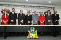O presidente do TJMA participou da abertura do seminário (Foto: Ribamar Pinheiro)