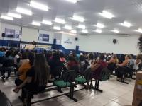 Palestra para professores e coordenadores de escolas municipais