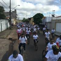 PASSEIO CICLÍSTICO REUNIU MAIS DE 300 PARTICIPANTES