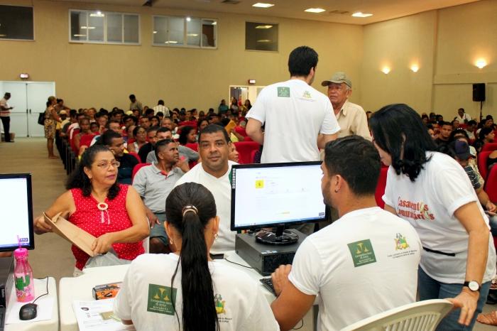 Atendimentos da CGJ-MA durante 25ª Ação Global (Fotos: Josy Lord)