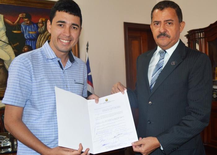 O presidente do TJMA agradeceu a iniciativa do vereador André Jardins