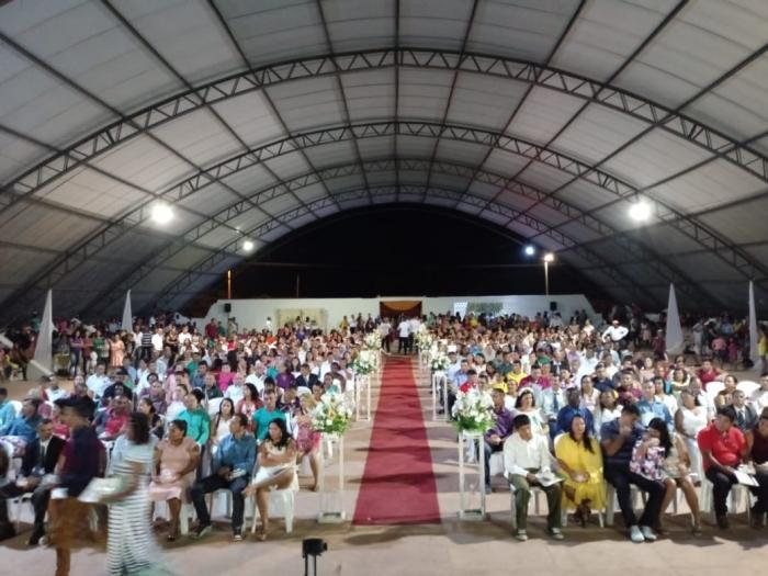 Casais participaram de cerimônias em Bequimão e Peri-Mirim