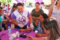 Ação ofereceu serviços e orientações à comunidade (Fotos: Josy Lord)