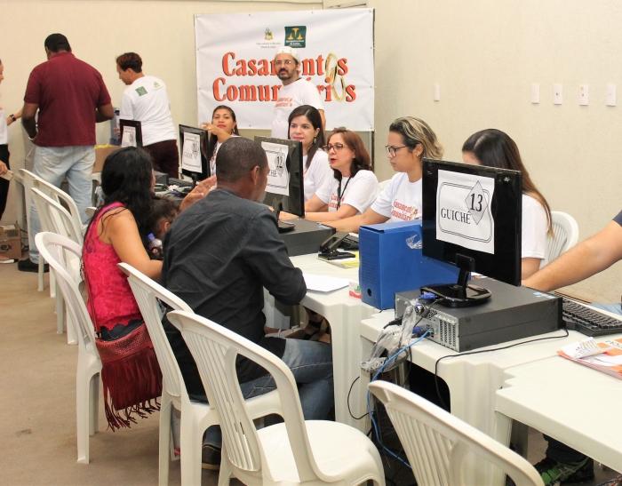 Servidores da CGJ-MA atuaram como voluntários durante a 26ª Ação Global. (Imagem: Josy Lord).