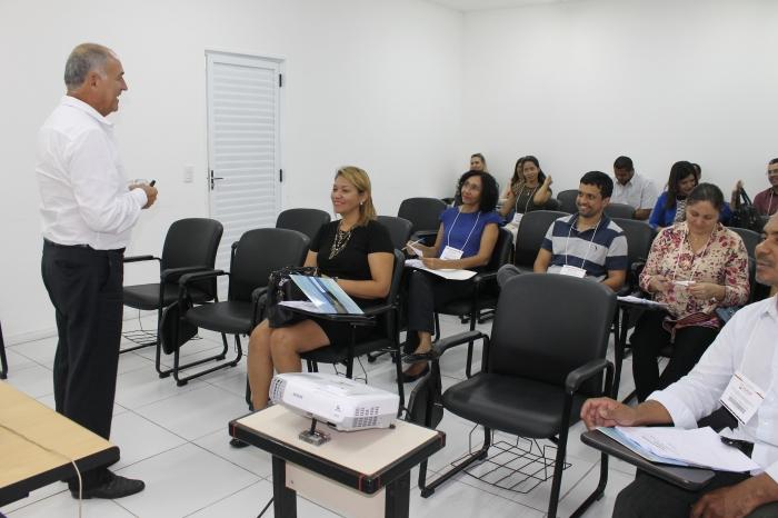 Professor Alcyon Ferreira ministrou o curso de Contabilidade Aplicada ao Setor Público