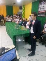 Juiz Jorge Leite falou durante a abertura do evento