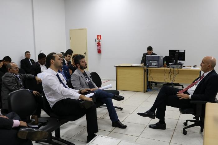 Corregedor reuniu com advogados de Pinheiro nesta quinta, 11