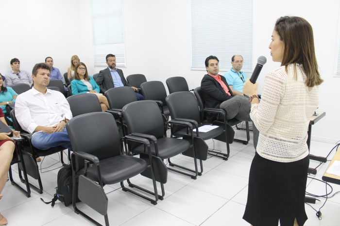 Juíza Jaqueline Caracas, auxiliar da CGJ, coordenou as atividades
