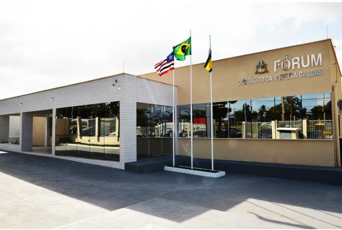 Fórum de Paço do Lumiar onde funciona a 2ª Vara. (Foto: Ribamar Pinheiro/TJMA).