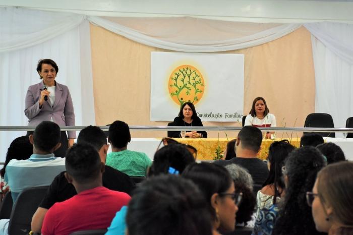Juízas durante abertura do projeto em Vitorino Freire.