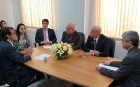 Corregedor-geral reuniu-se com magistrados de Timon nesta quinta-feira, 13
