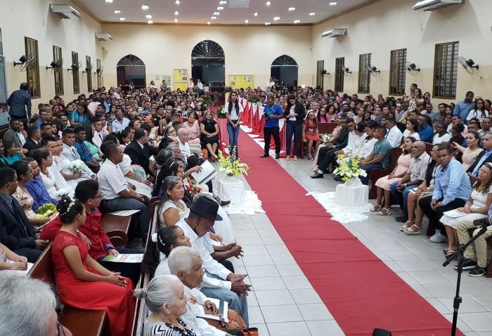 Cerimônia aconteceu na Igreja Assembleia de Deus de Caxias
