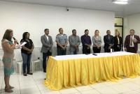 Audiência Pública contou com a presença de autoridades do Município.
