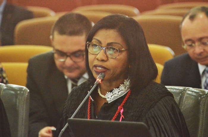 A desembargadora Angela Salazar foi a relatora de uma das apelações (Foto: Ribamar Pinheiro)