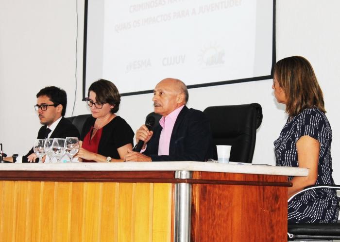 O juiz José dos Santos Costa falou da realidade do cumprimento de medidas socioeducativas por adolescentes infratores na capital. (Foto: JosyLord/CGJMA).