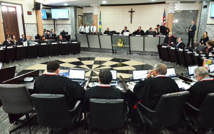 O sorteio foi realizado na sessão plenária administrativa (Foto: Ribamar Pinheiro)