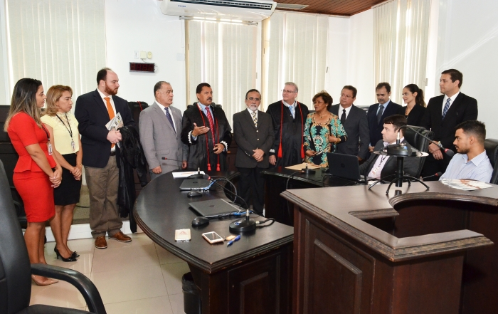 O Centro de Conciliação e Mediação da Justiça de 2º Grau está instalado no prédio-sede do TJMA (Foto: Ribamar Pinheiro)