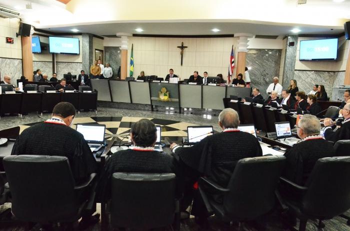 A indicação foi na sessão plenária administrativa (Foto: Ribamar Pinheiro)