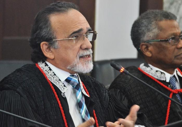 O desembargador José Luiz Almeida foi o relator do processo (Foto: Ribamar Pinheiro)