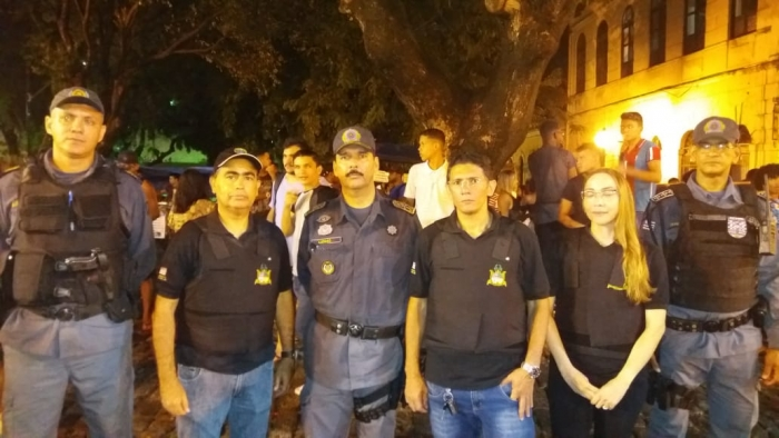 Equipe de fiscalização atuou com o apoio da PMMA.