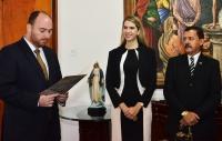 Juíza Mara Pessoa assume como titular na Comarca de Mirinzal. Foto: Ribamar Pinheiro/TJMA