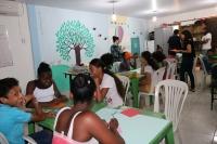 Projeto Casa atende 60 crianças com atividades educacionais e recreativas (Fotos: Josy Lord)