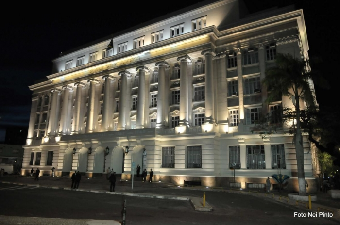 Fachada do Fórum Ruy Barbosa, onde ocorrerá parte das atividades do Encontro de Presidentes. Foto: Divulgação TJBA