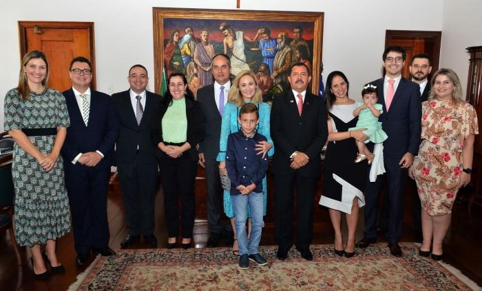 Juízes tomam posse em novas unidades judiciais no Gabinete da Presidência do TJMA. Foto: Ribamar Pinheiro/ Asscom TJMA