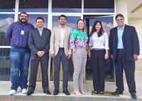 Magistrados e servidores de Açailândia e do RH trabalharam uma semana na GPC. Foto: Divulgação