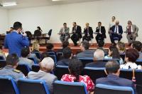 Advogado apresenta pleitos para a Mesa Diretora do TJMA. Foto: Ribamar Pinheiro/ Asscom TJMA