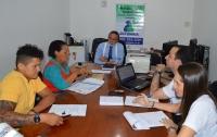População é atendida pelo ouvidor-geral na Comarca de Grajaú. Foto: Danielle Limeira/ Asscom TJMA