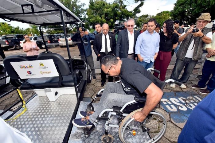 Os carrinhos foram doados em acordo proposto pela Justiça em audiência de conciliação (Foto: Ariosvaldo Baeta)