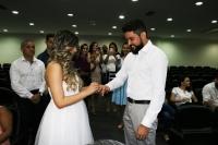 Casais formalizam a união no Fórum de São Luís (Fotos: Josy Lord)