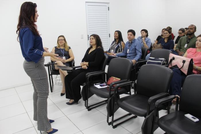 Adriana Carvalho ministrou o curso de Liderança Sistêmica na ESMAM