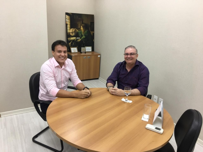 Os gestores discutiram sobre possíveis parcerias entre a ESMAM e os órgãos estaduais de educação