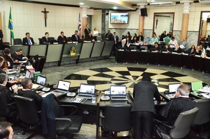 Os desembargadores decidiram em sessão plenária. (Foto: Ribamar Pinheiro)