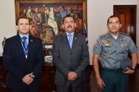 A visita ocorreu no Gabinete da Presidência do TJMA (Foto: Ribamar Pinheiro)