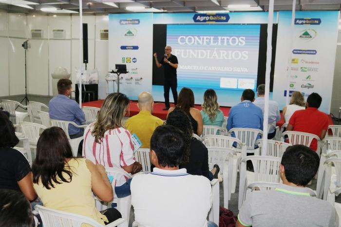Corregedor-geral proferiu palestra durante a Agrobalsas.