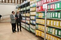 Desembargadores Marcelo Carvalho e Jorge Rachid participaram da entrega simbólica dos processos à Cooperativa de Reciclagem de São Luís (Fotos: Josy Lord)