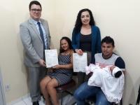 Juiz Rodrigo Nina participou da instalação do Posto de Registro Civil em Pinheiro