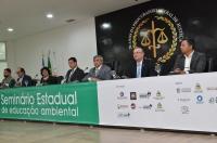 Froz Sobrinho destacou a educação como principal plataforma de preservação ambiental (Foto: Ribamar Pinheiro)