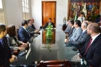 As portarias foram assinadas no Gabinete da Presidência do TJMA (Foto: Ribamar Pinheiro)