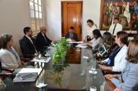 Assinatura do Termo de Cooperação ocorreu no Gabinete da Presidência do TJMA. Foto: Ribamar Pinheiro/ Ascom TJMA
