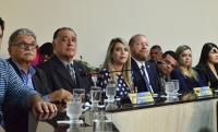 Des. Jorge Rachid participou de audiência pública do projeto Teias em março deste ano. Foto: Ribamar Pinheiro/ Asscom TJMA