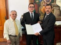 Juiz Gabriel Caldas toma posse em Turiaçu. Foto: Asscom TJMA