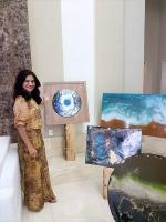 Saadia Moura, artista.
