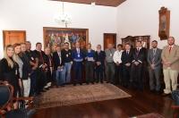 A solenidade ocorreu no gabinete da presidência (Foto: Ribamar Pinheiro)